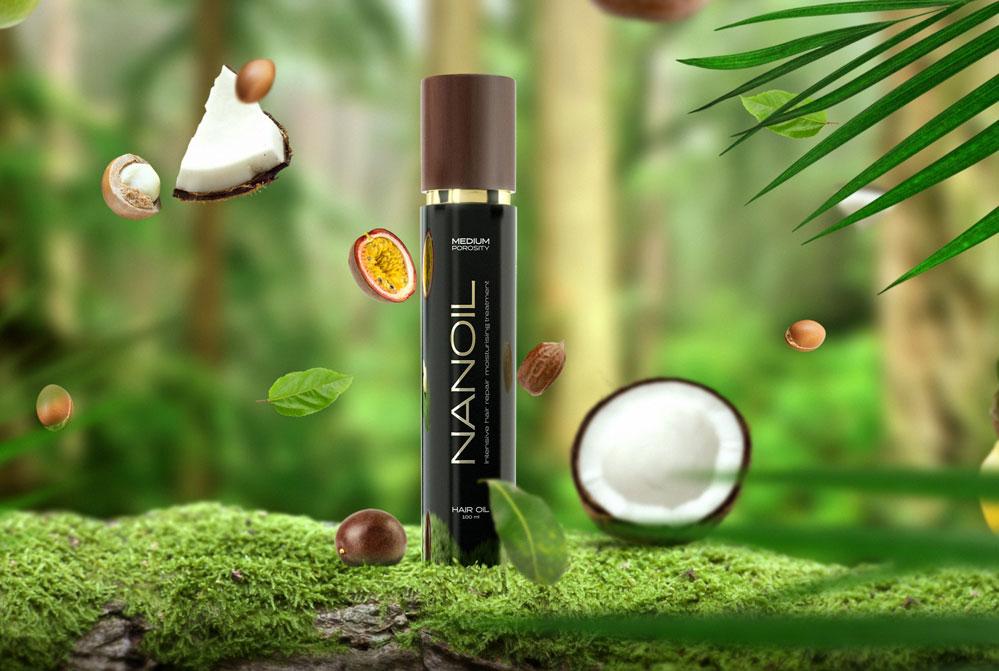 Η δύναμη των ελαίων στα Nanoil προϊόντα